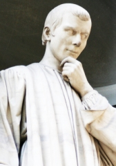 Machiavelli-statua