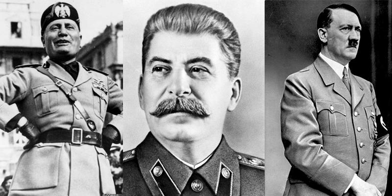 stalin hitler mussolini Buy hitler, stalin, and mussolini: totalitarianism in the twentieth century, 4th edition 4th edition by bruce f pauley (isbn: 9781118765920) from amazon's book store.