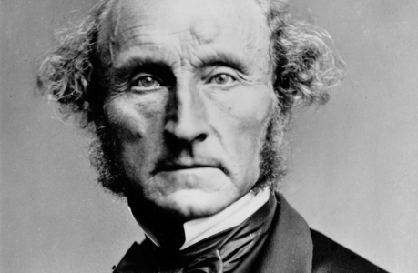 circa 1870:  English philosopher, economist and author John Stuart Mill (1806 - 1873). He believed in individual freedom as a mark of a mature society  (Photo by London Stereoscopic Company/Getty Images)